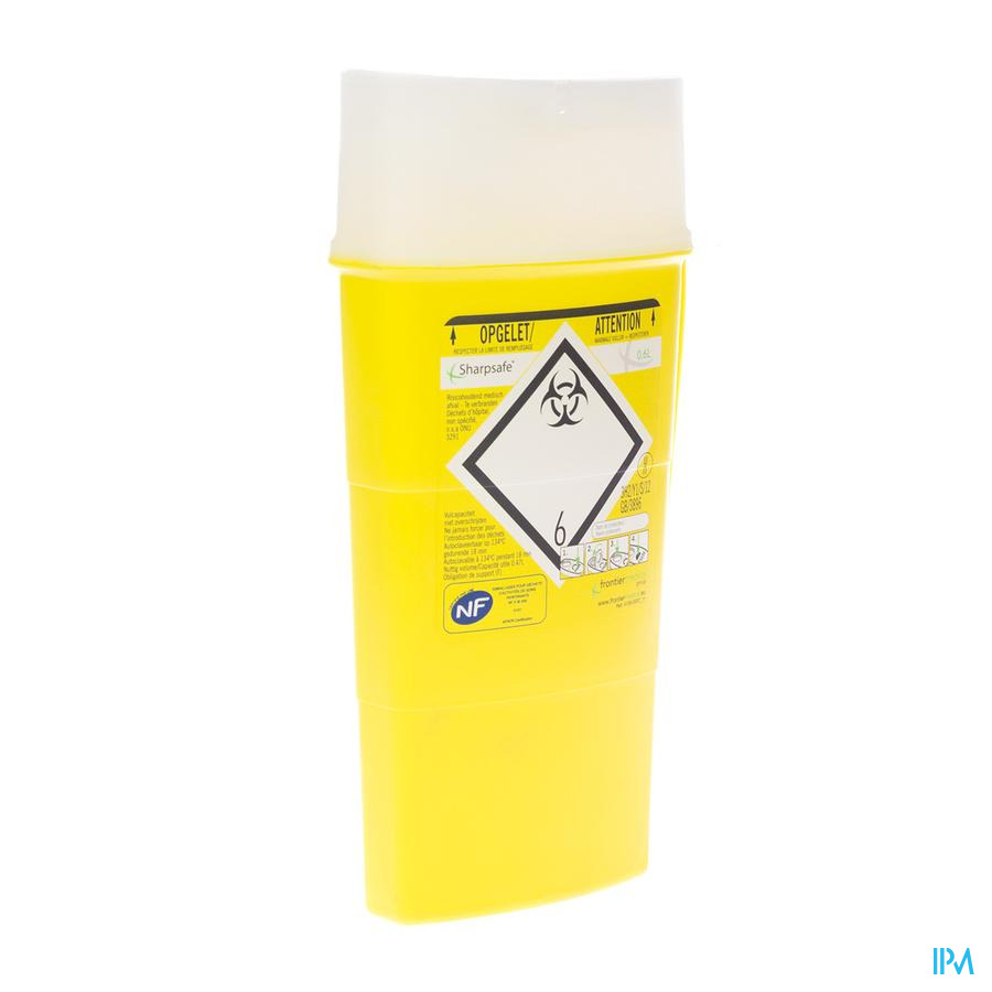 Naaldcontainer Sharpsafe / 0,6L