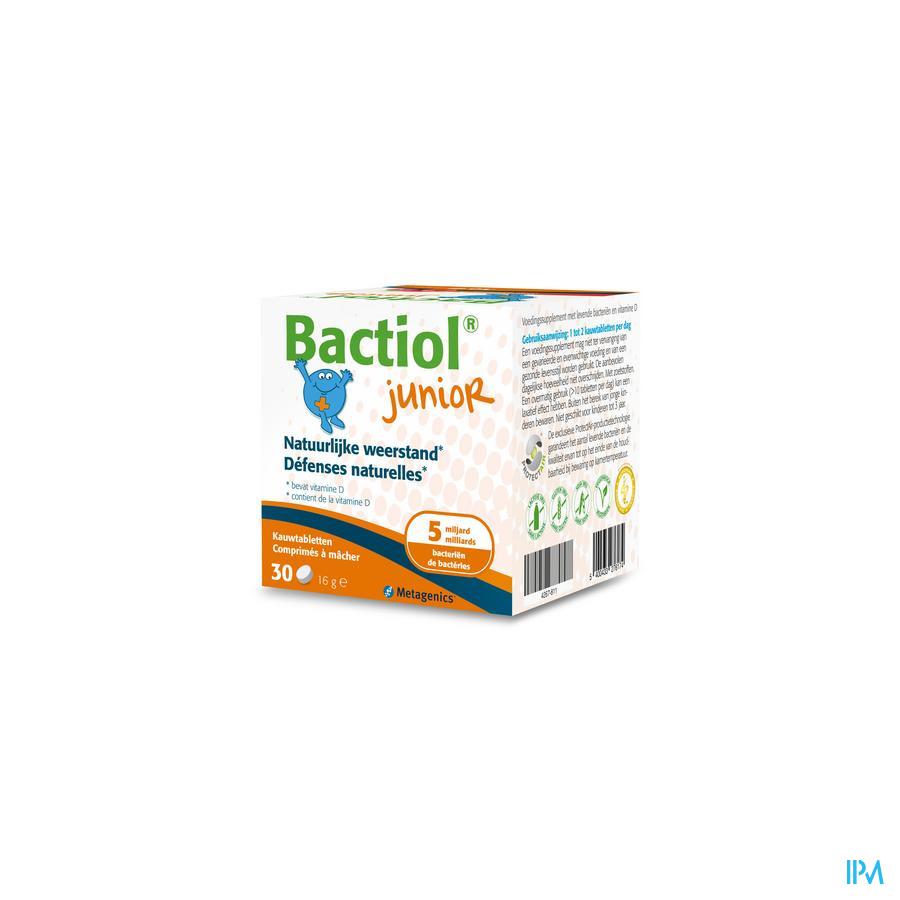 Bactiol Junior (30 kauwtabletten)
