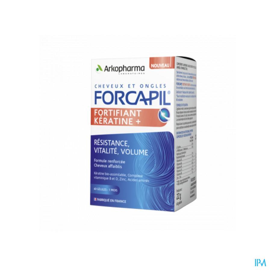 Forcapil Keratine / 60 capsules