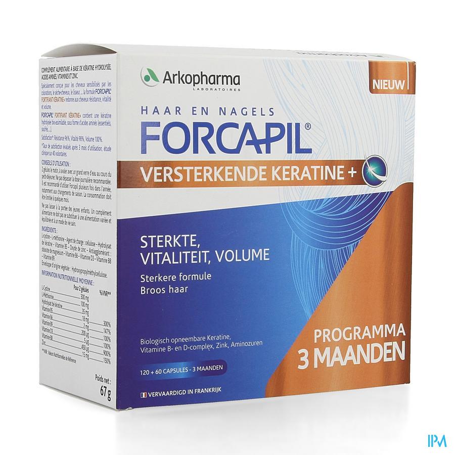 Forcapil Keratine / 180 capsules