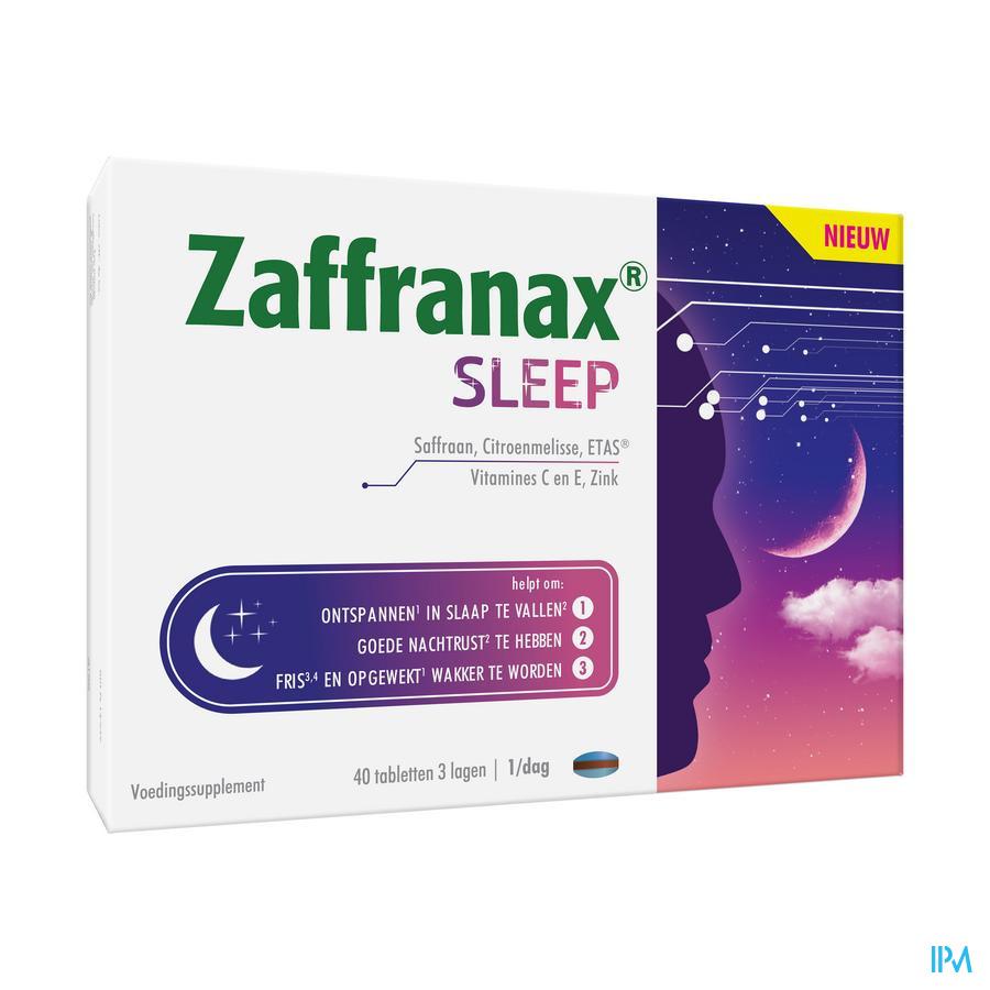 Zaffranax Sleep (40 tabletten)