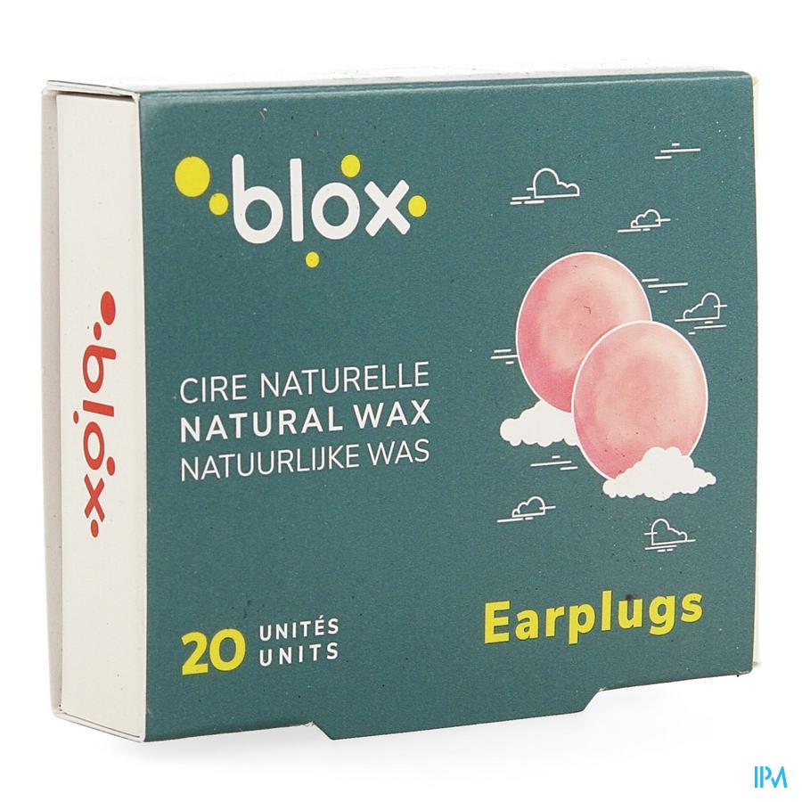 Blox natural wax (10 paar)