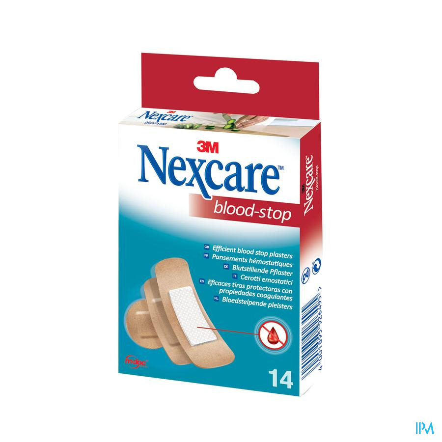 Nexcare Blood Stop pleisters assortiment / 14