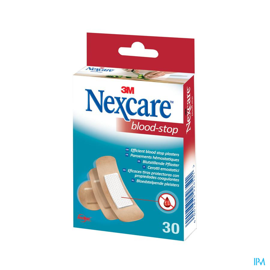 Nexcare Blood Stop pleisters assortiment / 30