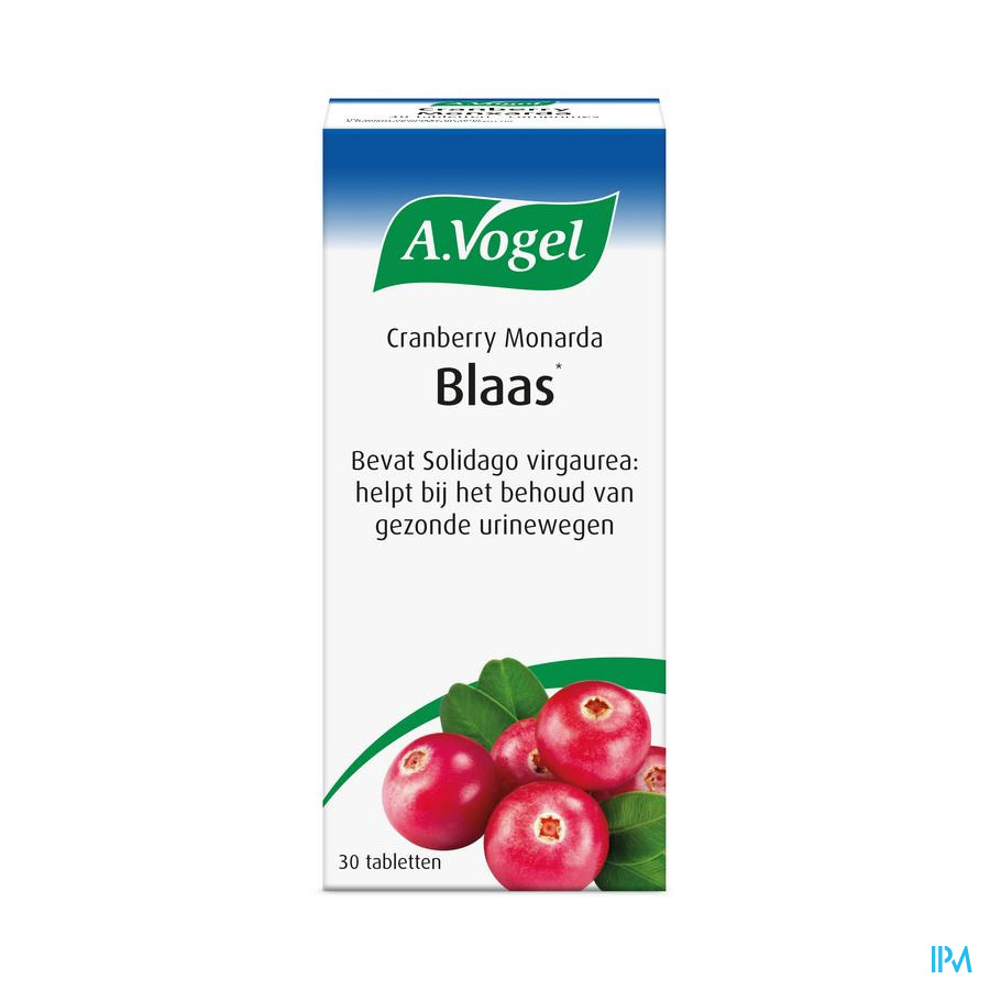 Vogel Cranberry Monarda (30 tabletten)