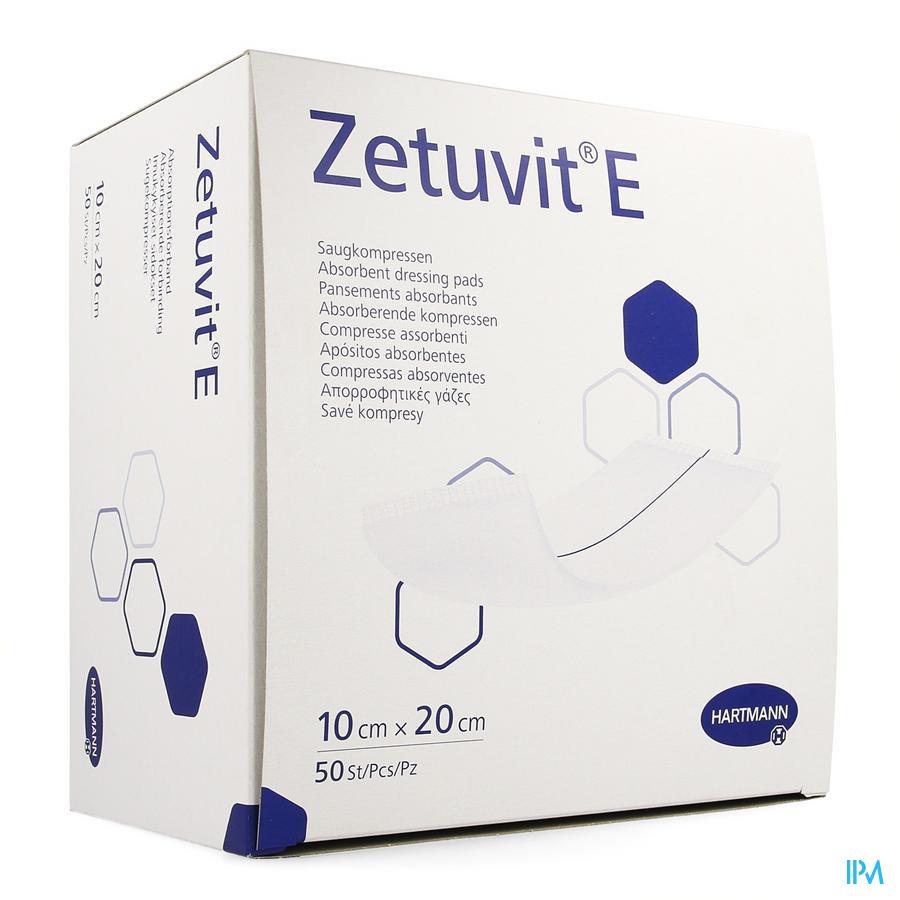 Zetuvit 10x20cm (niet steriel) (50)