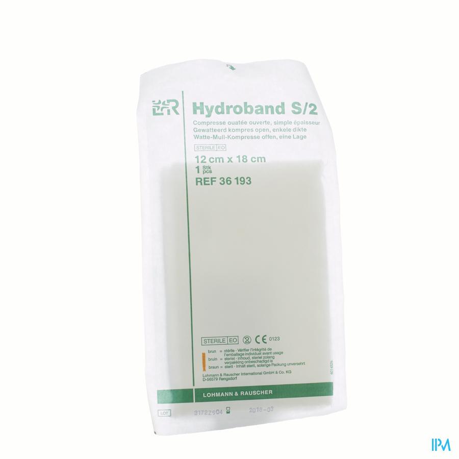 Hydroband 12 x18cm steriel (1) (enkele dikte)