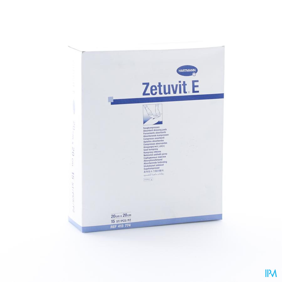 Zetuvit 20x20cm steriel (15)