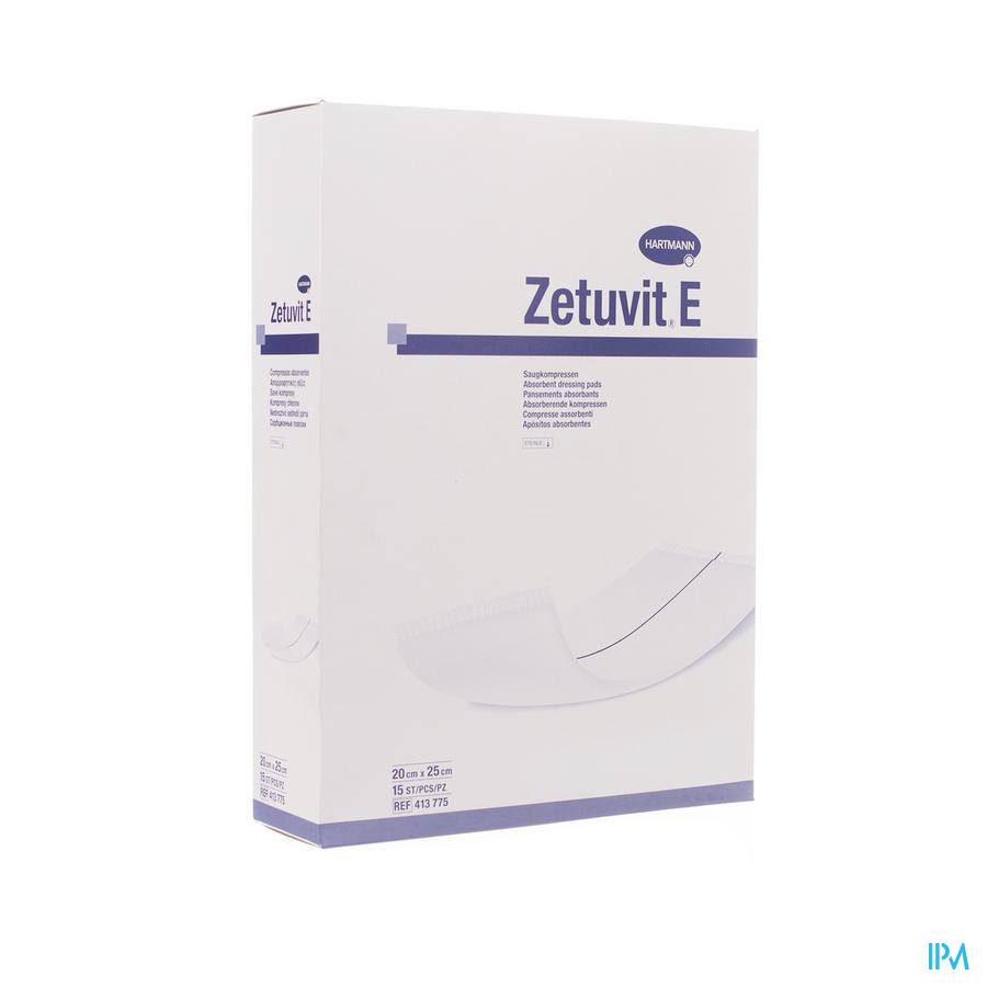 Zetuvit 20x25cm steriel (15)