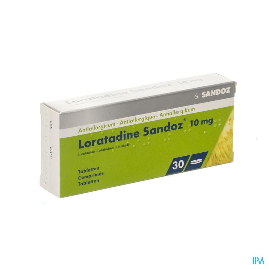 Loratadine Sandoz 10MG (30)