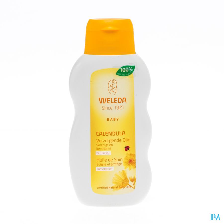 Weleda Calendula Baby Verzorgende Olie Parfumvrij 200 ml