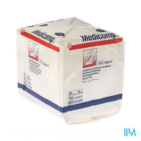 Non-woven Medicomp 10x10cm (100)