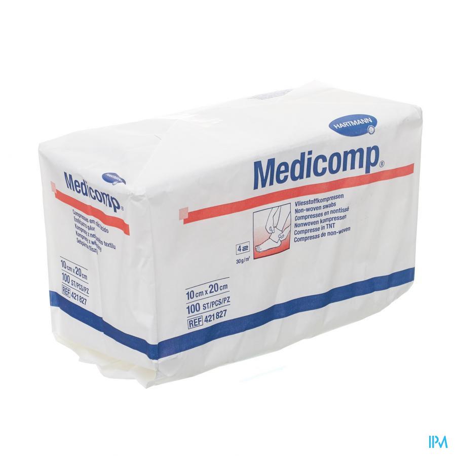 Non-woven Medicomp 10x20cm (100)