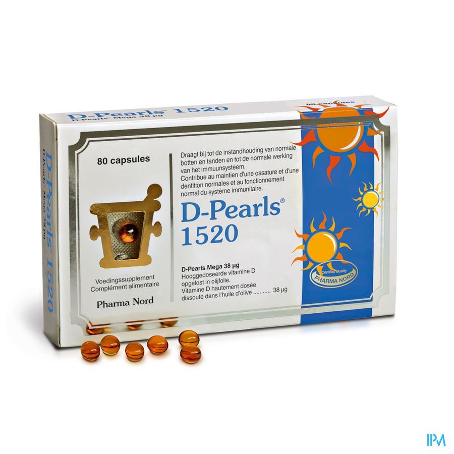 D-Pearls 1520 (80 capsules)