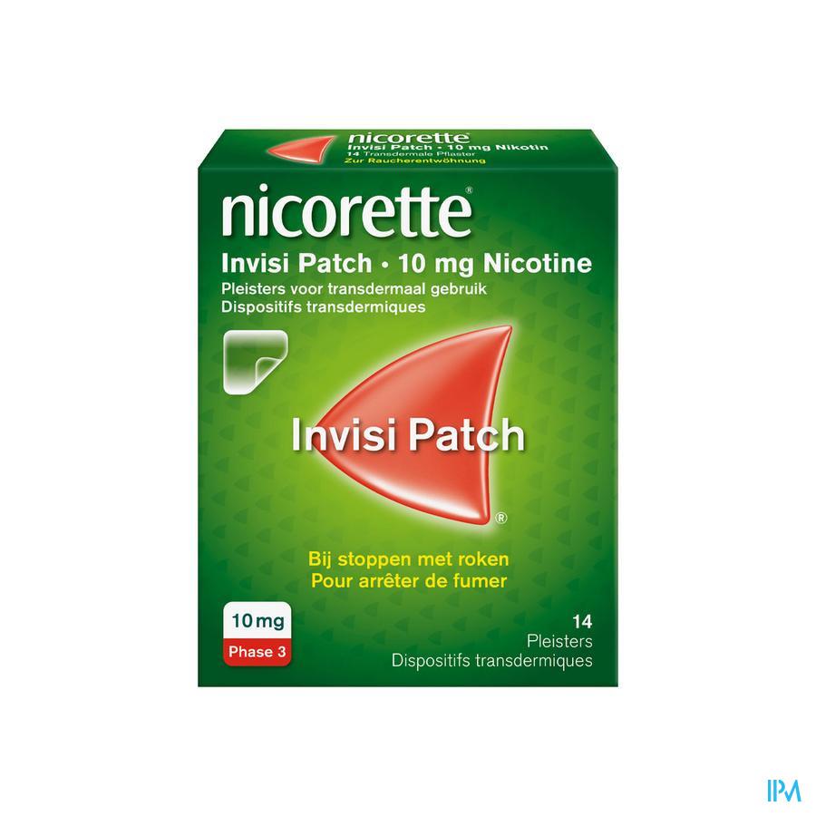 Nicorette Patch 10 mg (14 stuks)