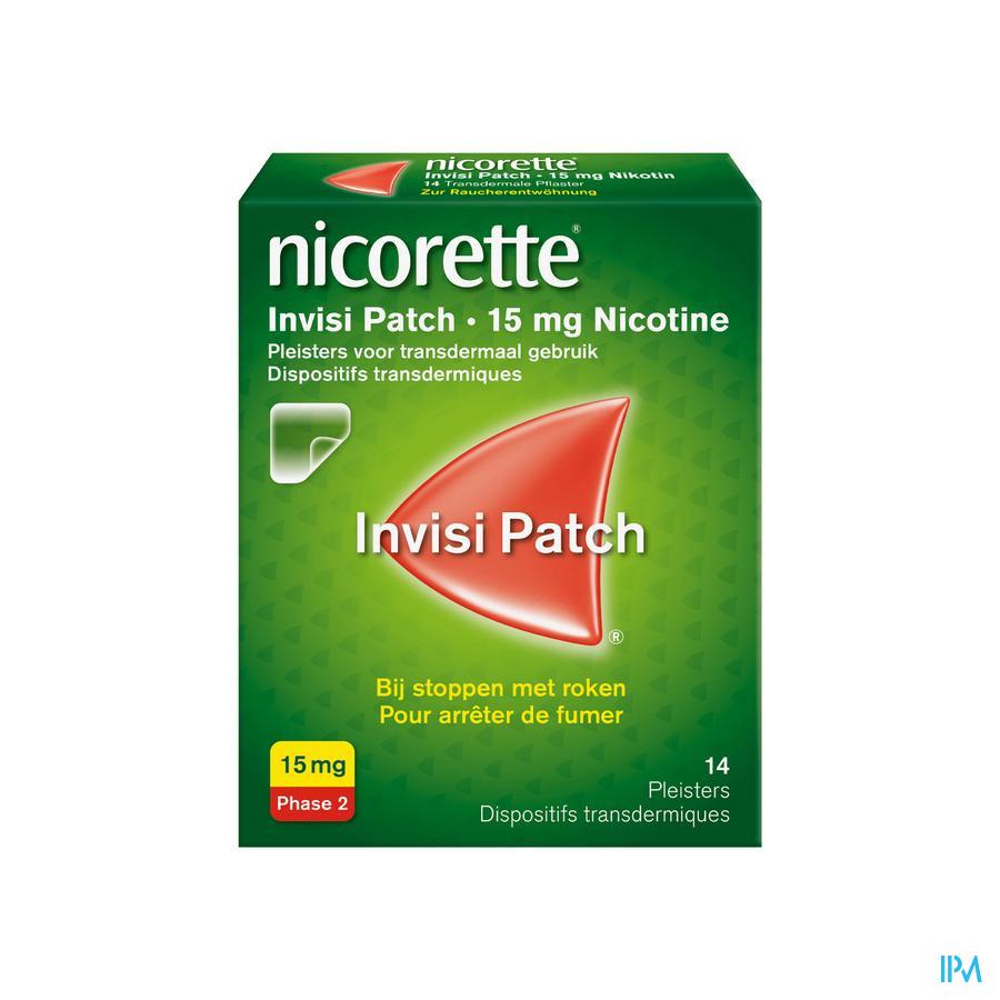 Nicorette Patch 15 mg 14 stuks)
