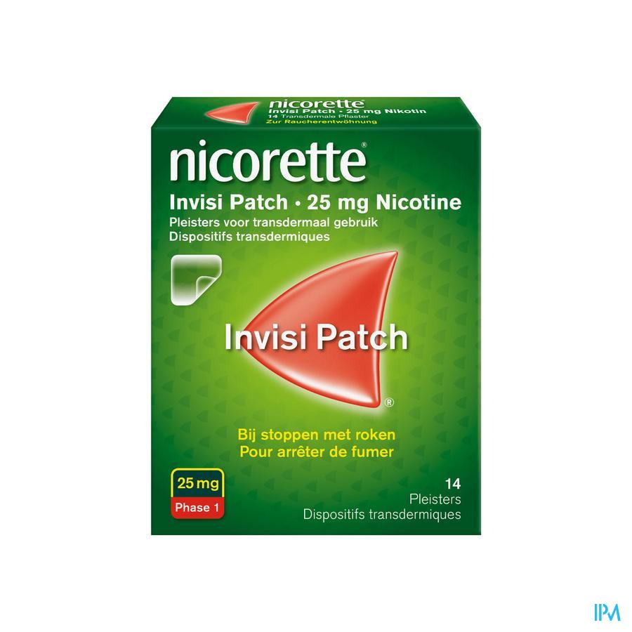 Nicorette Patch 25 mg 14 stuks)