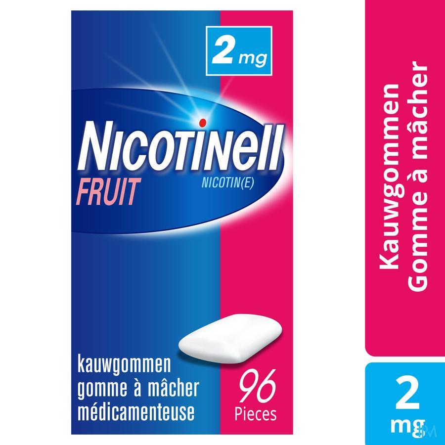 Nicotinell Fruit 2 mg kauwgom