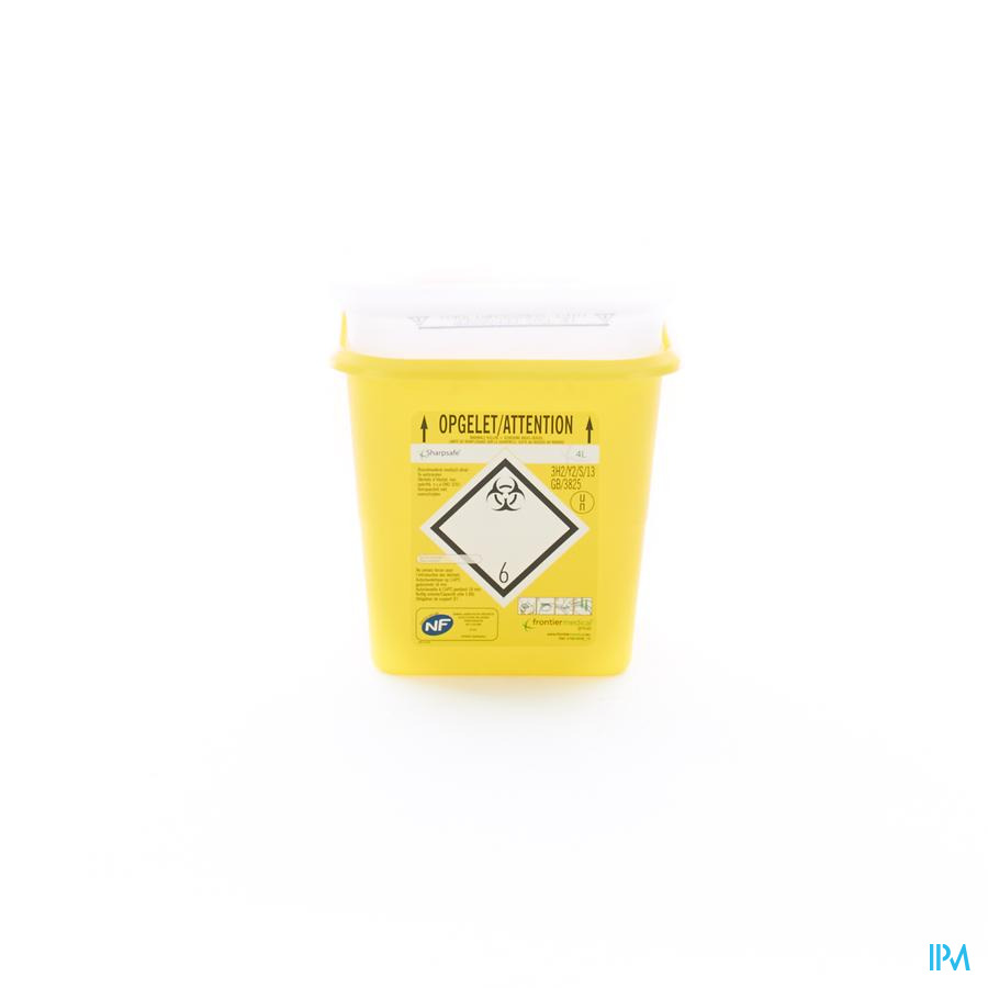 Naaldcontainer Sharpsafe / 4L