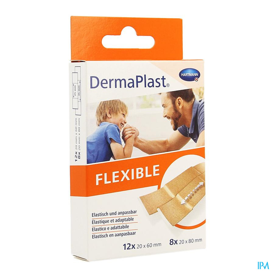 Dermaplast flexible 2 maten