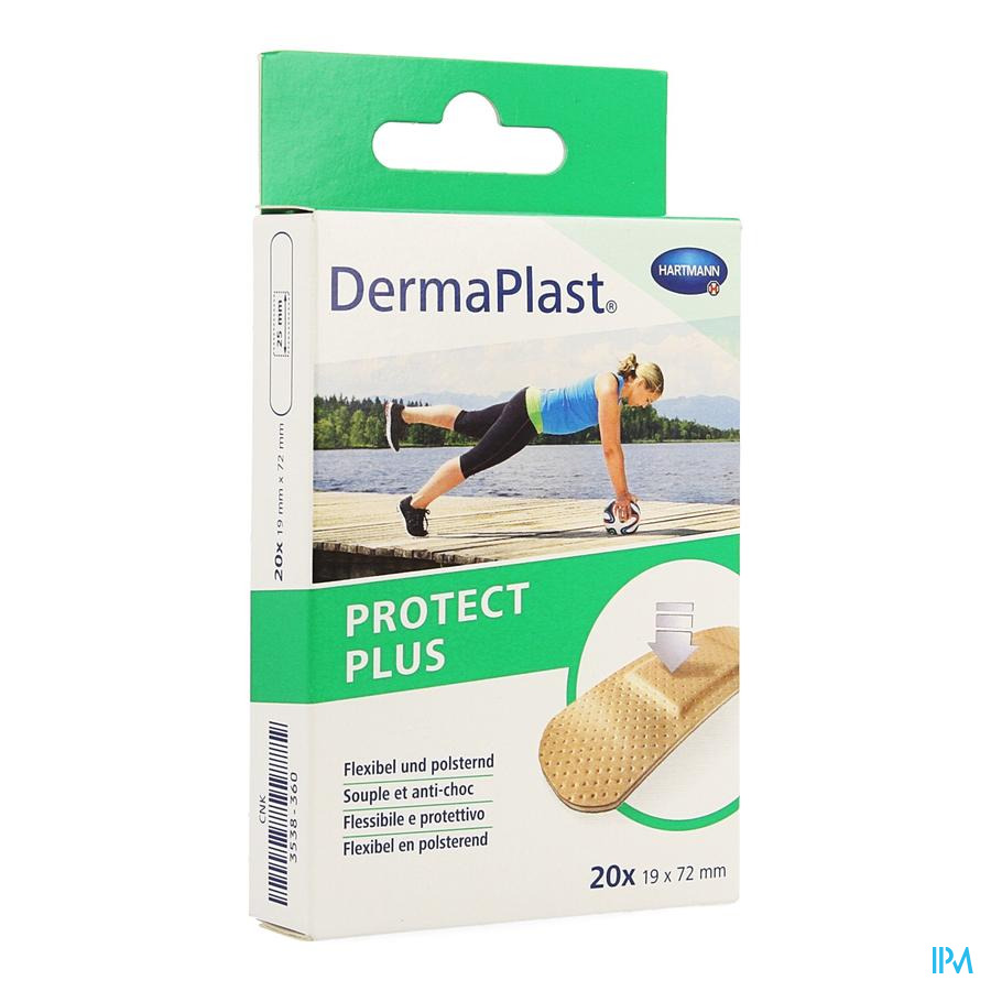 Dermaplast Protect plus 19x72mm