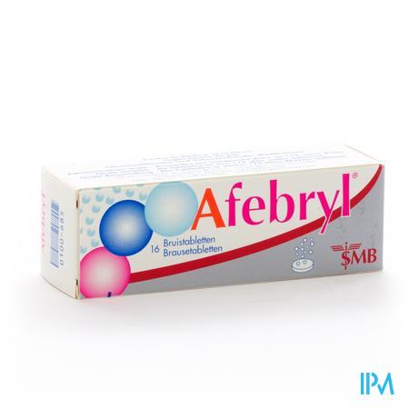 Afebryl (16 bruistabletten)
