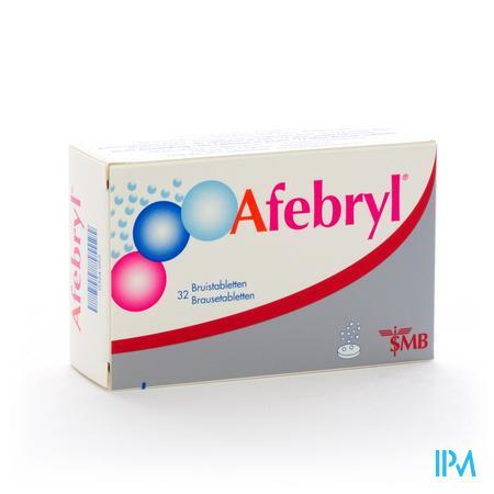 Afebryl (2 x 16 bruistabletten)
