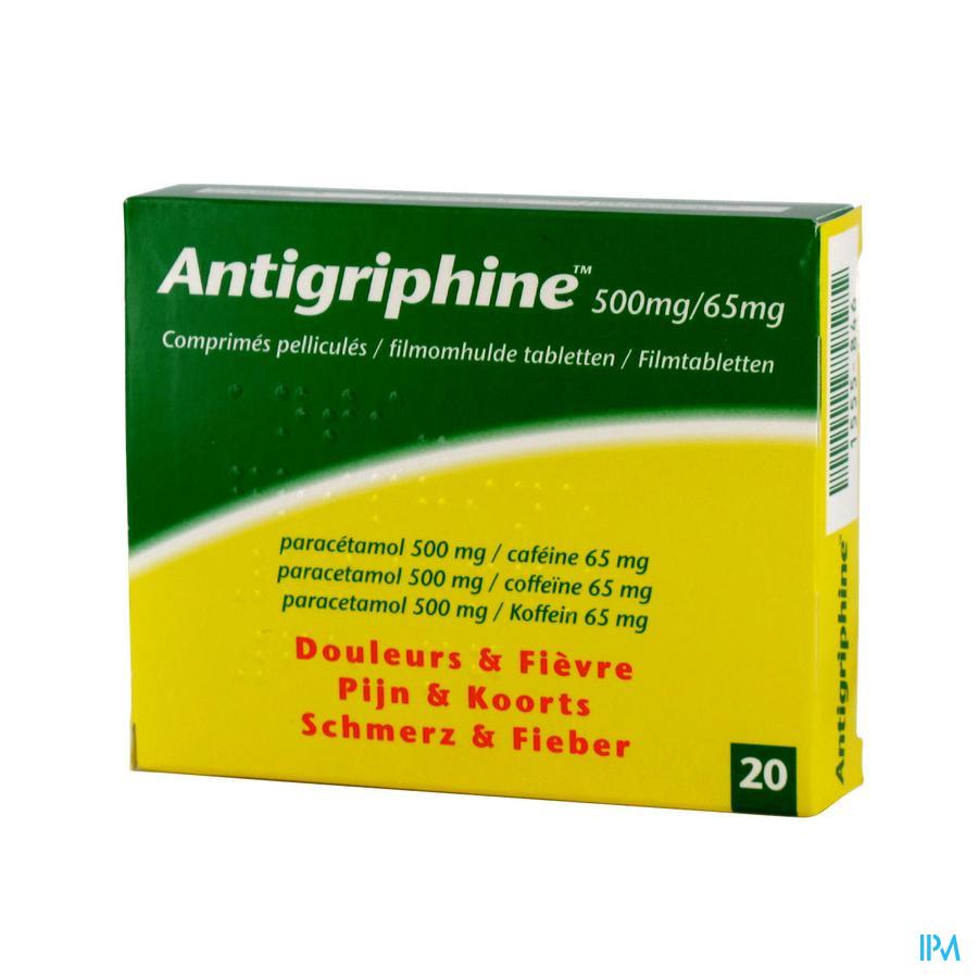 Antigriphine  (20 tabletten)