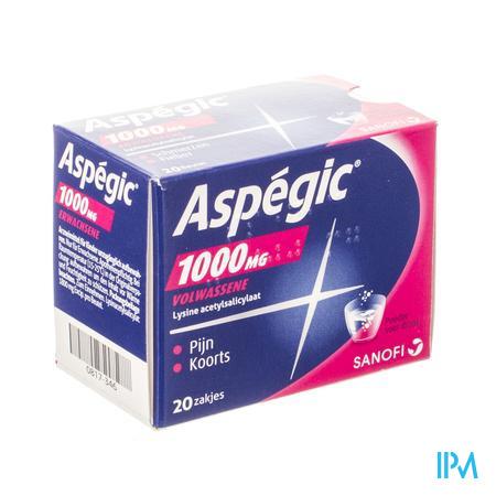 Aspegic 1 g (20 zakjes)