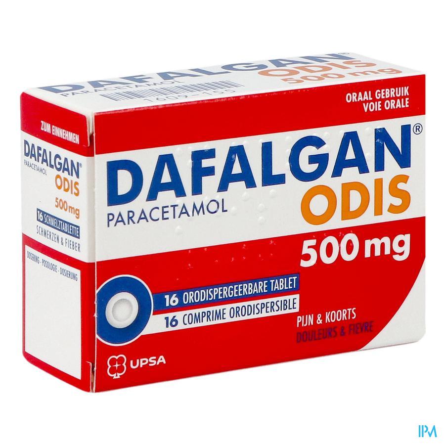 Dafalgan 500 mg odis