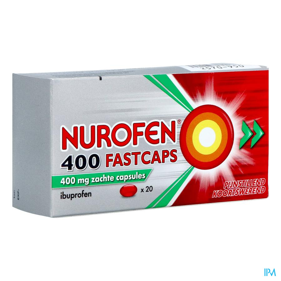 Nurofen fastcaps (20 capsules)