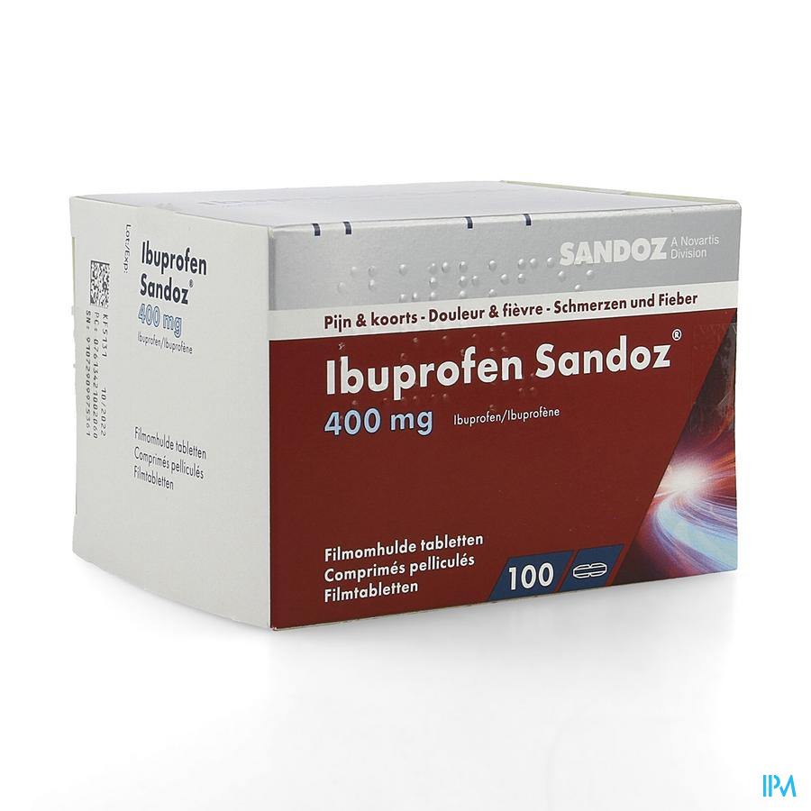 Ibuprofen Sandoz (100 comp)