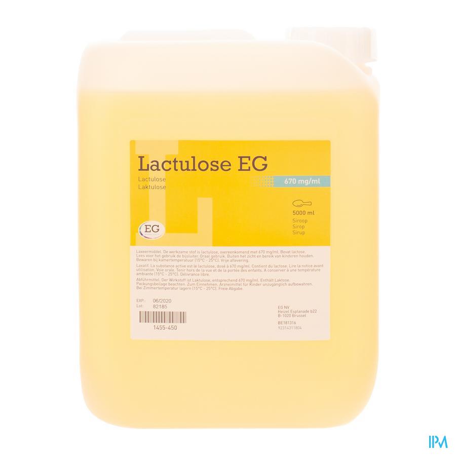 Lactulose siroop  BIDON  5 Liter