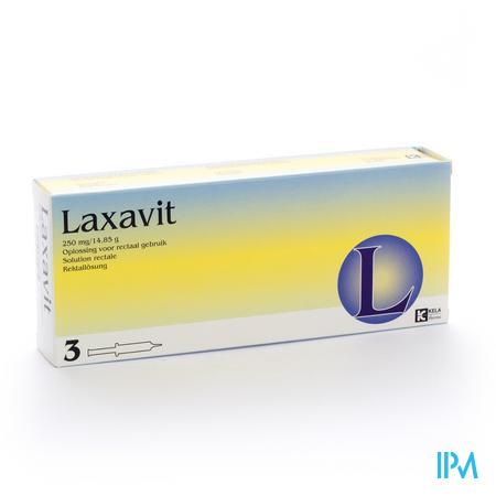Laxavit / 12 ml - 3 injectoren