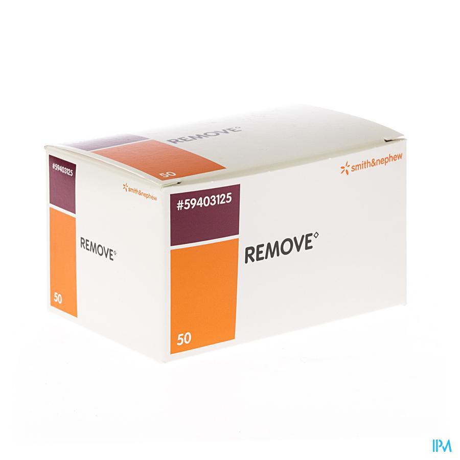 Remove swab (50stuks)