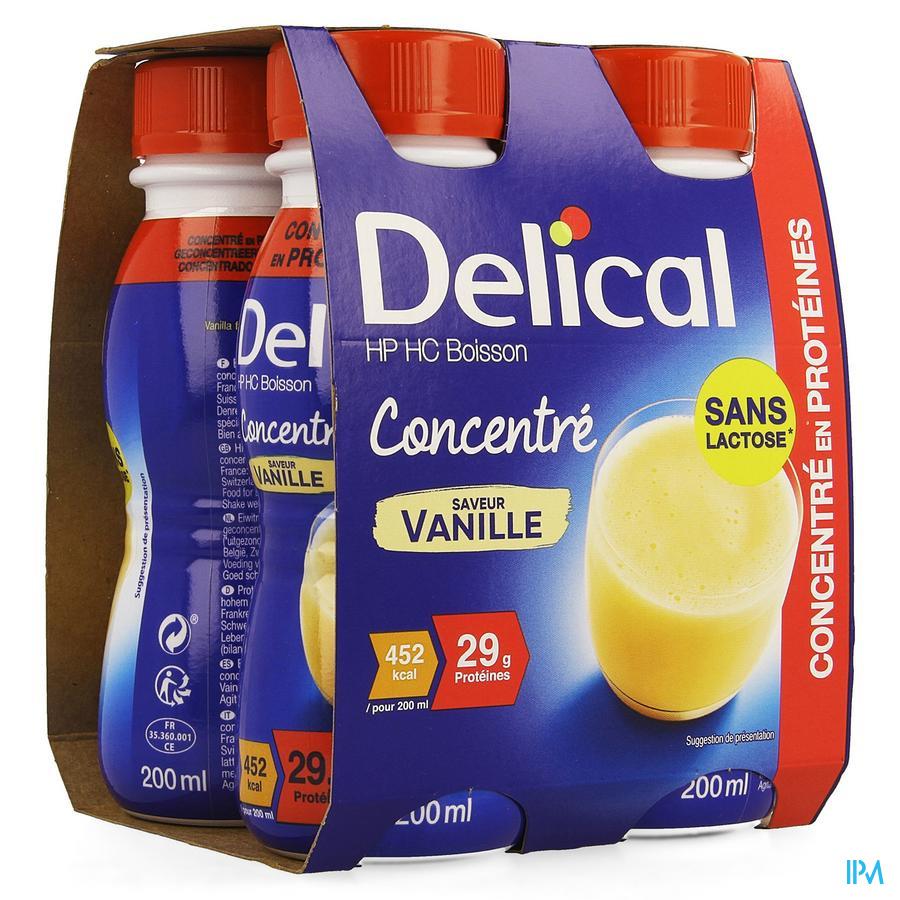 Delical Geconcentreerd Vanille (452 kcal/ flesje)