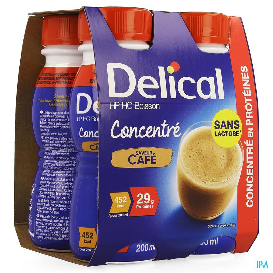 Delical Geconcentreerd Koffie (452 kcal/ flesje)
