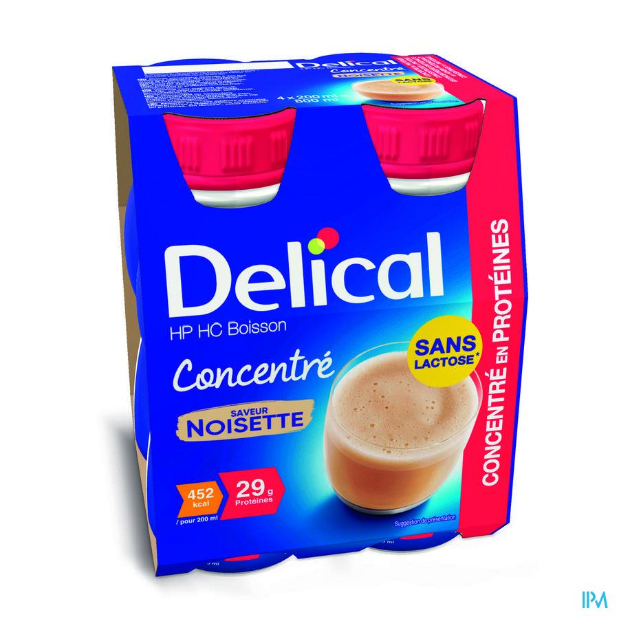 Delical Geconcentreerd Hazelnoot (452 kcal/ flesje)