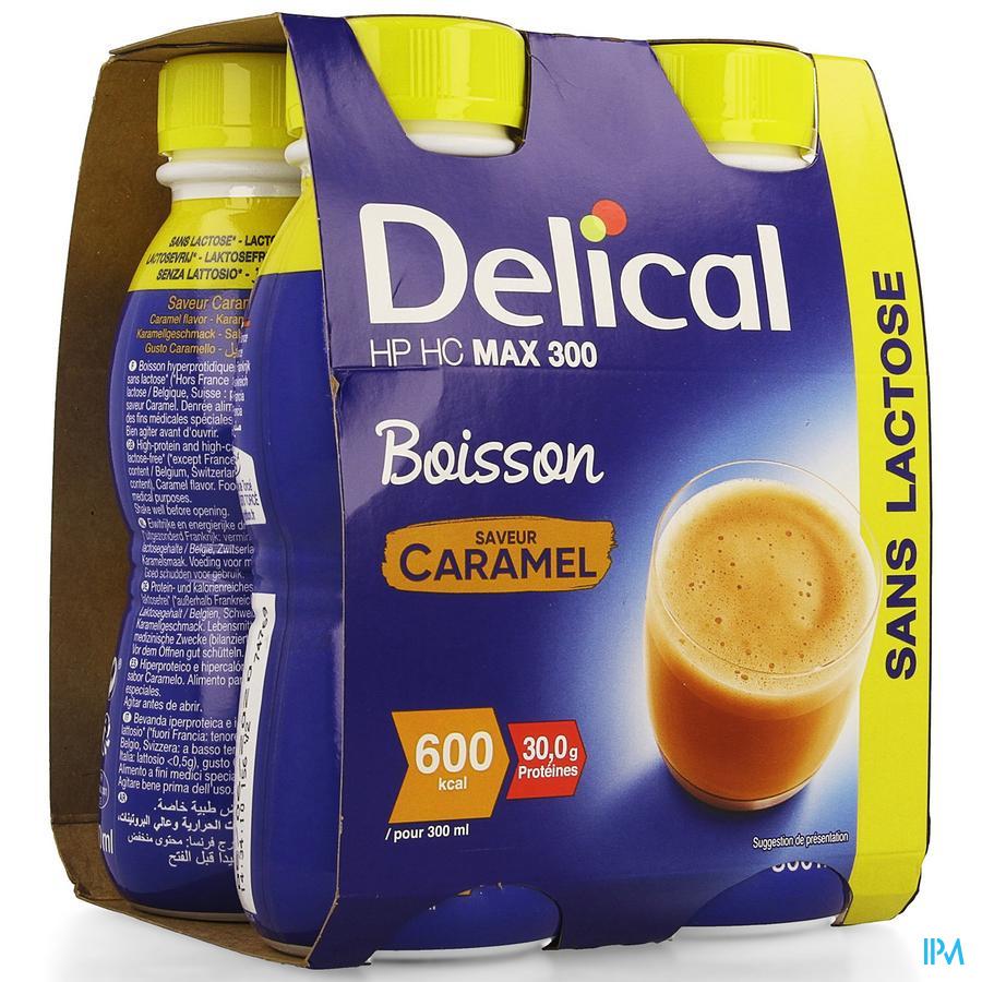 Delical MAX.300 Karamel 4x300 ml (600 kcal/ flesje)