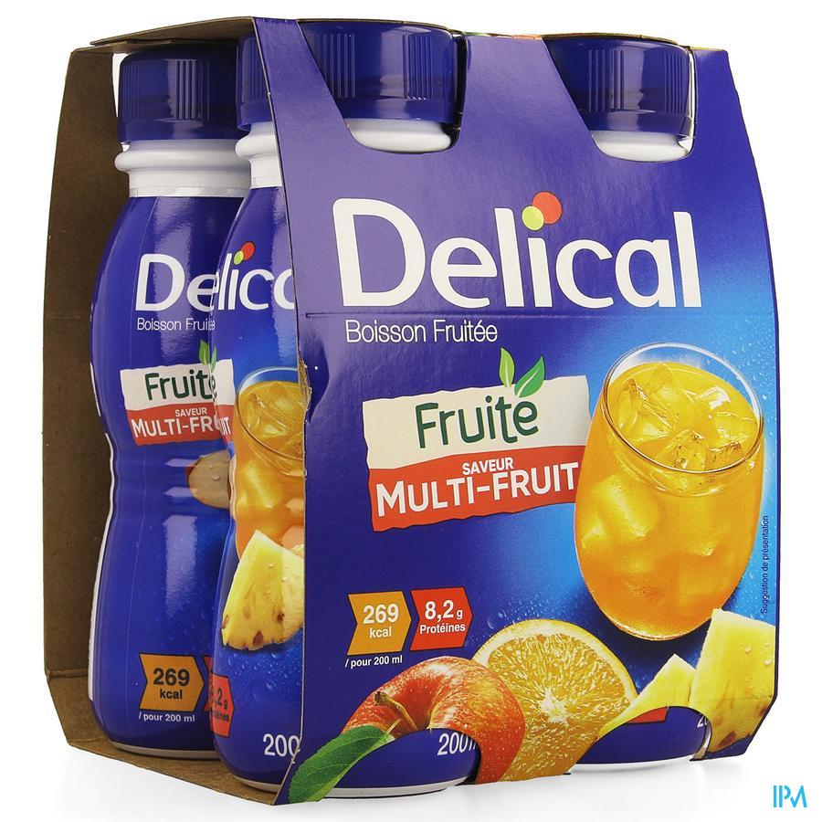 Delical Vruchtendrank Multivruchten (269 kcal/ flesje)