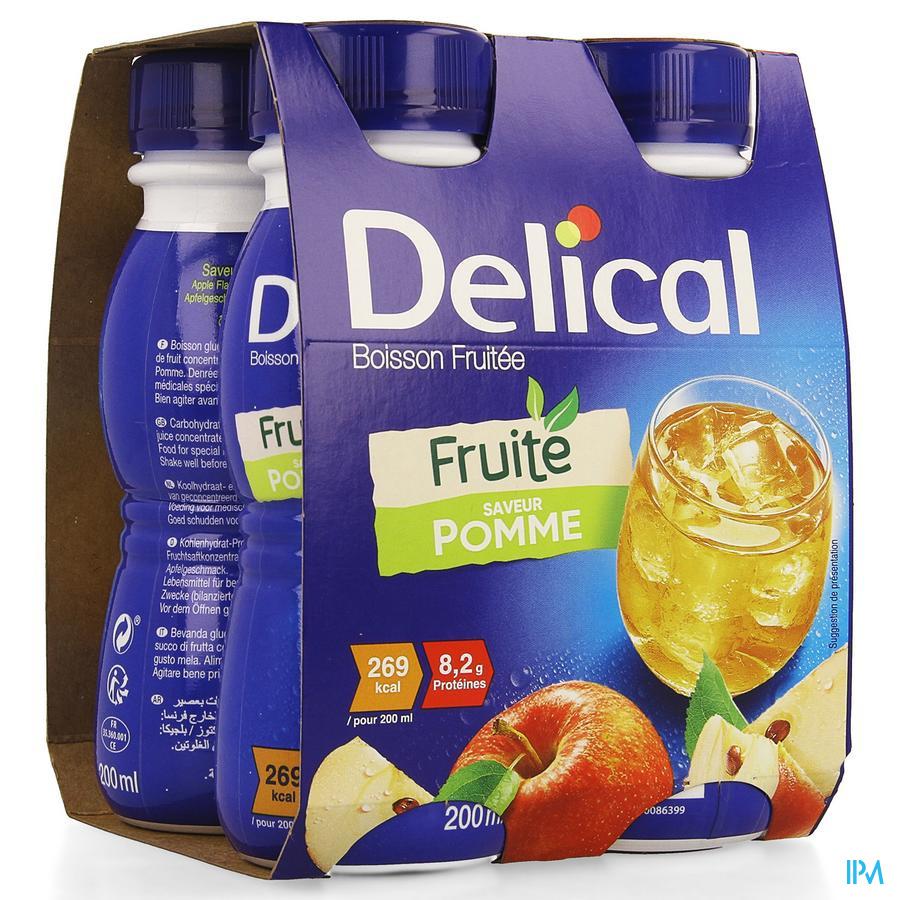 Delical Vruchtendrank Appel (269 kcal/ flesje)