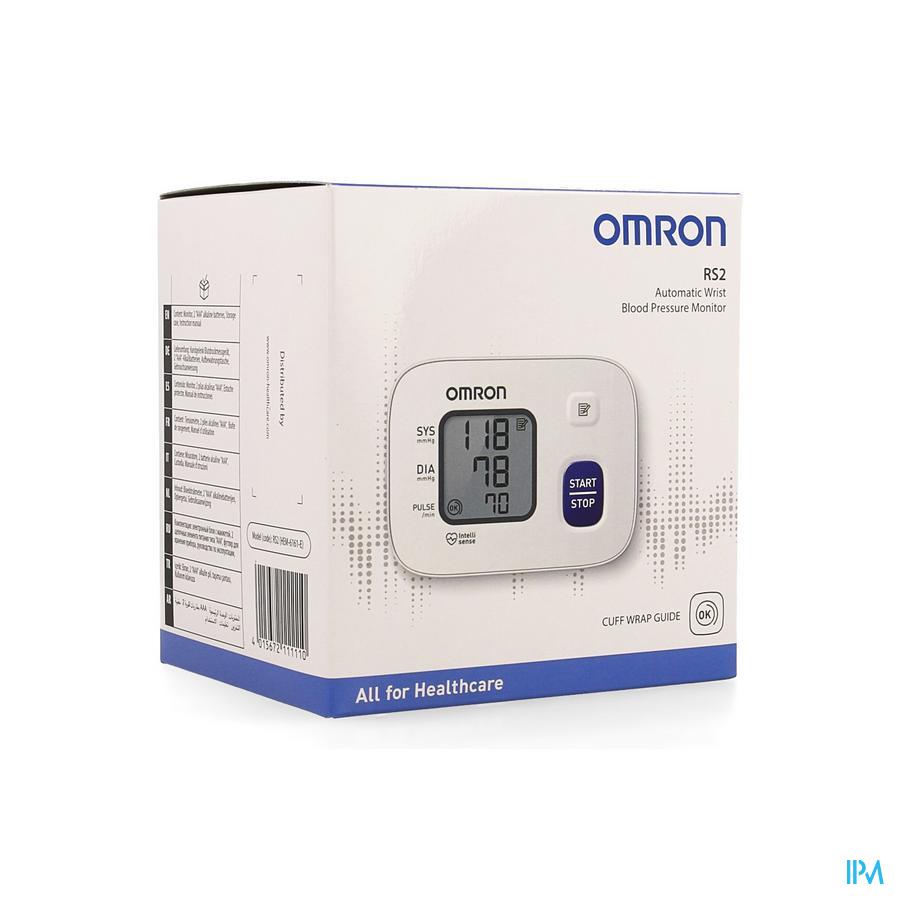 Omron RS2 polsbloeddrukmeter