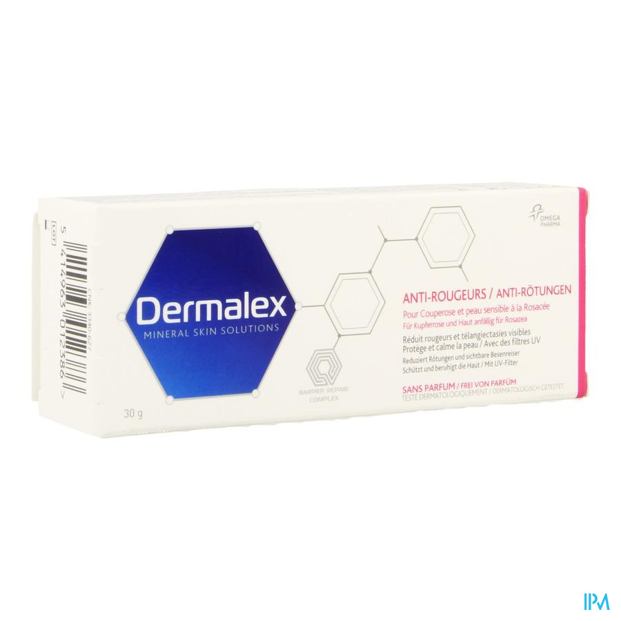 Dermalex Anti-roodheid crème (30g)