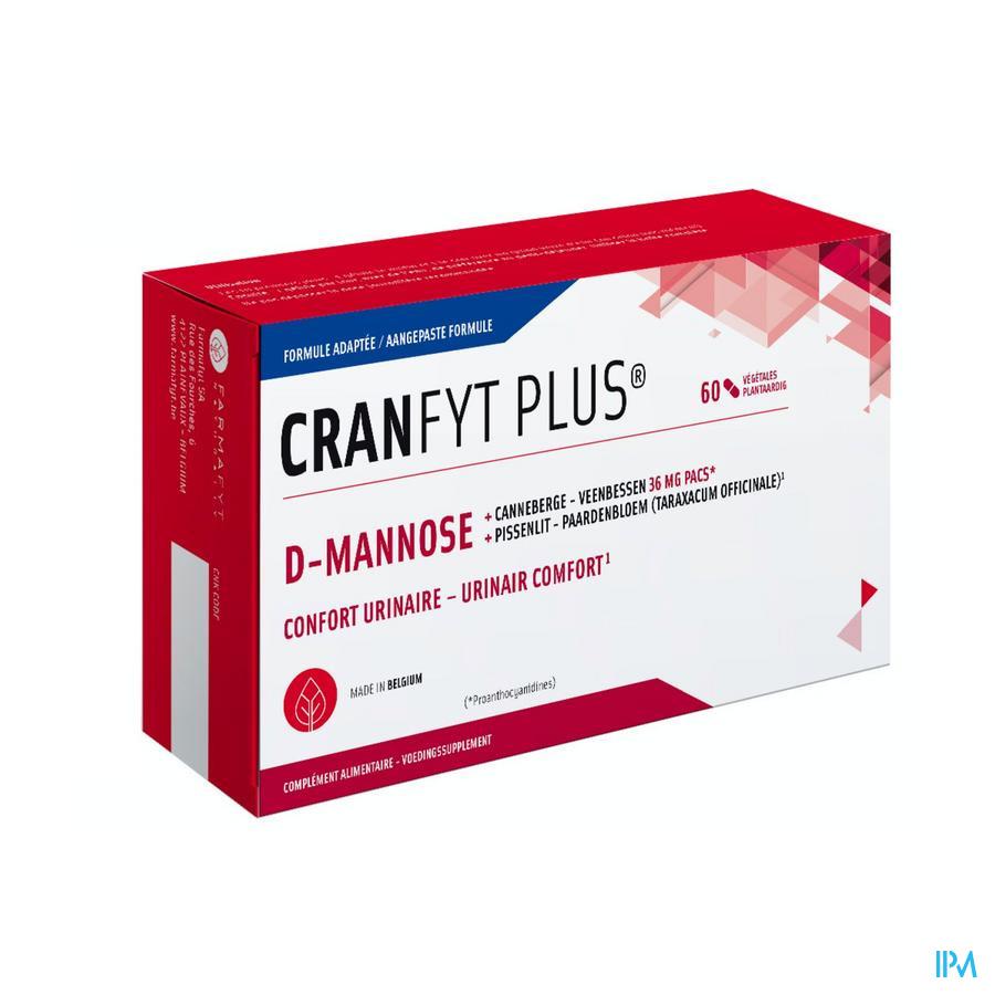 Cranfyt Plus (60 plantaardige tabletten)