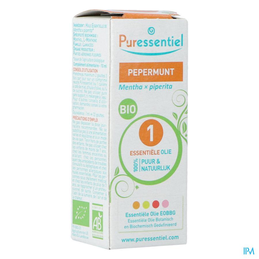 Puressentiel essentiële olie pepermunt (10ml)