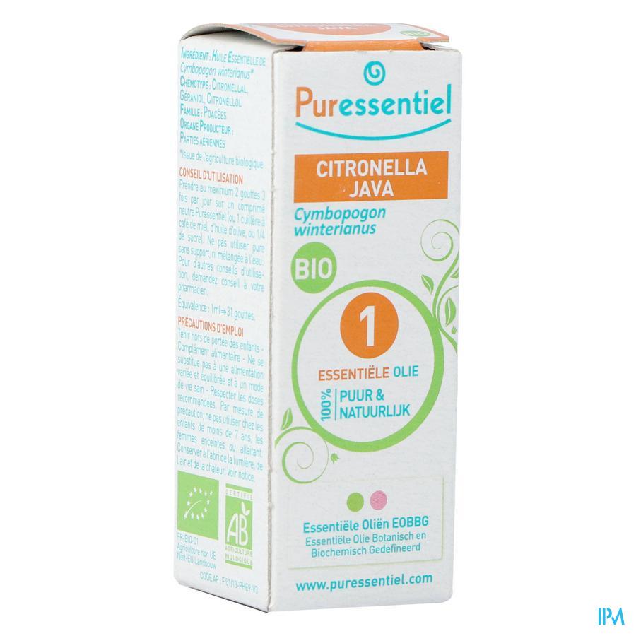Puressentiel essentiële olie citronella (10ml)