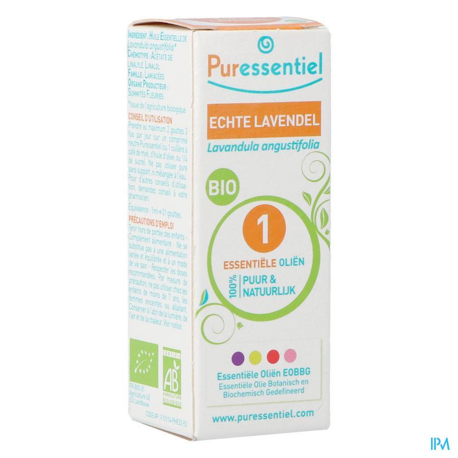 Puressentiel essentiële olie lavendel (10ml)