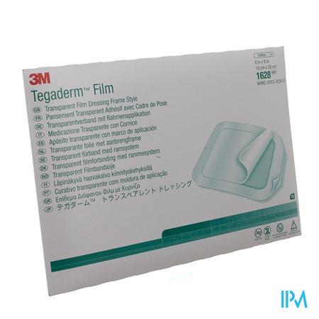 Tegaderm Film Transparent 15x20cm (10 stuks)
