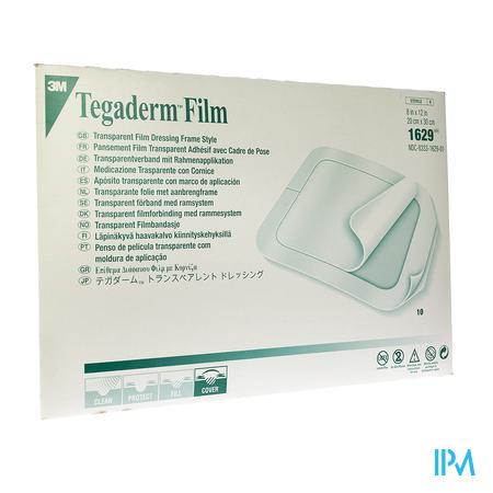 Tegaderm Film Transparent 20x30cm (10 stuks)