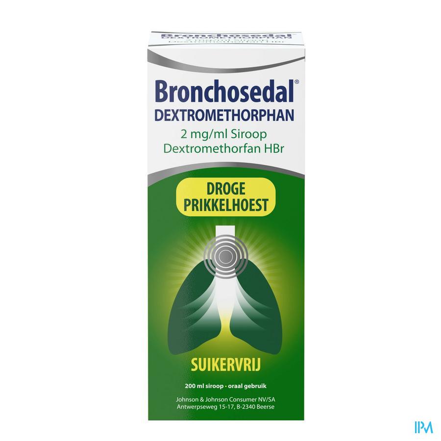 Bronchosedal droge hoest (zonder suiker)